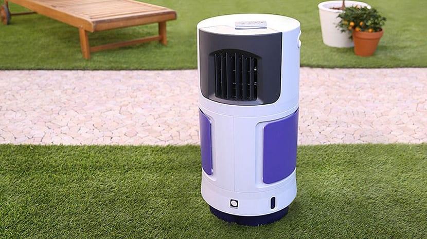 Climatizador evaporativo para exteriores