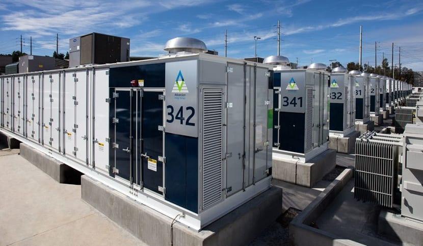 Desarrollo de instalaciones de almacenamiento energético