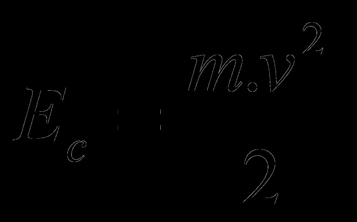 ecuación de la energía cinética