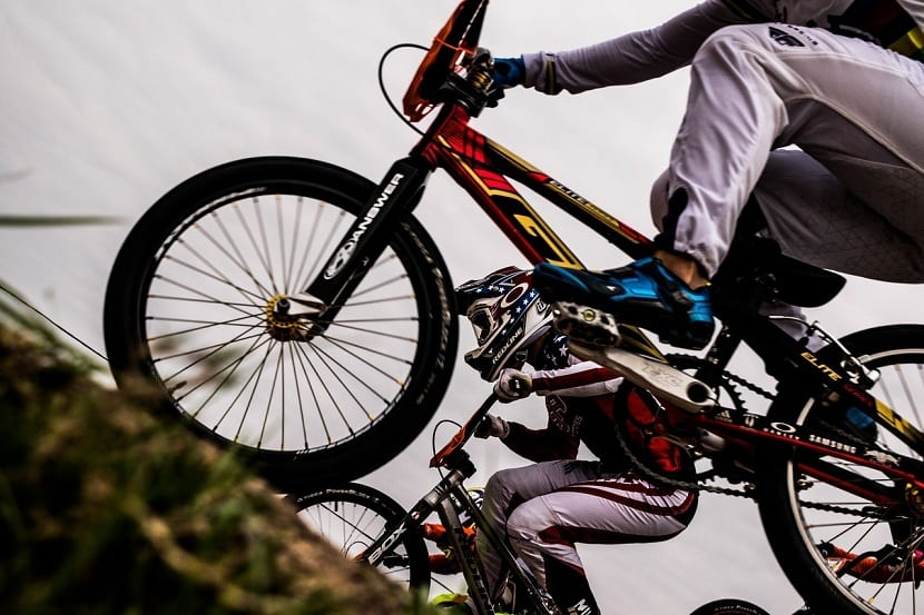 Energía mecánica de un ciclista