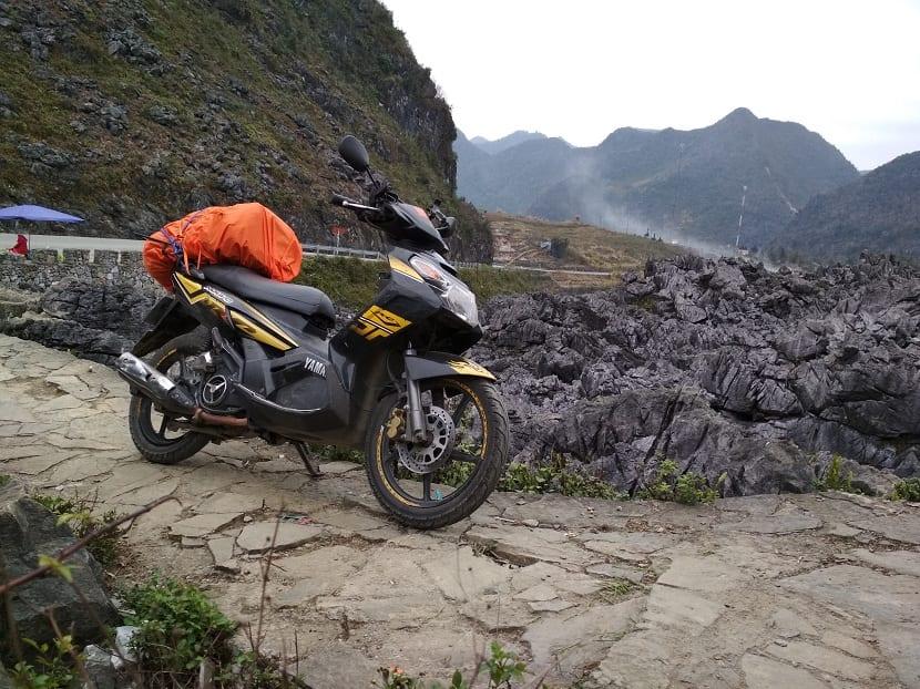 Energía mecánica de una moto