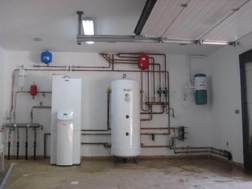 Instalación de bombas de calor geotérmica