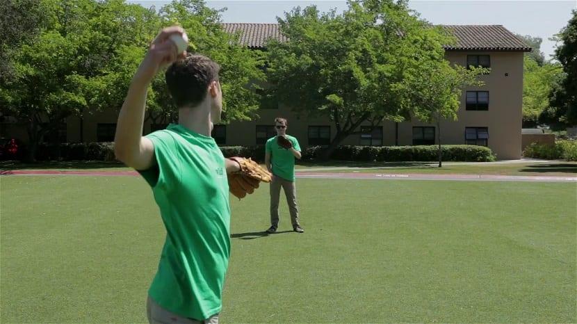 Lanzamiento de una pelota