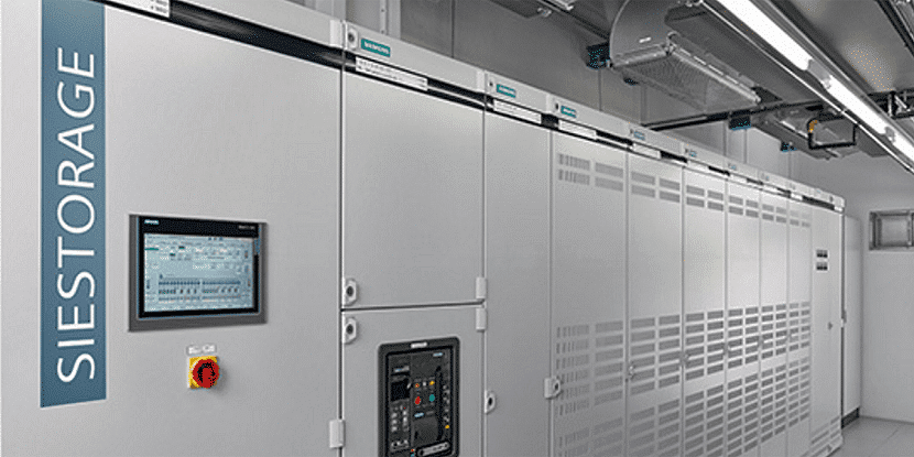 Sistema de almacenamiento de baterías de litio