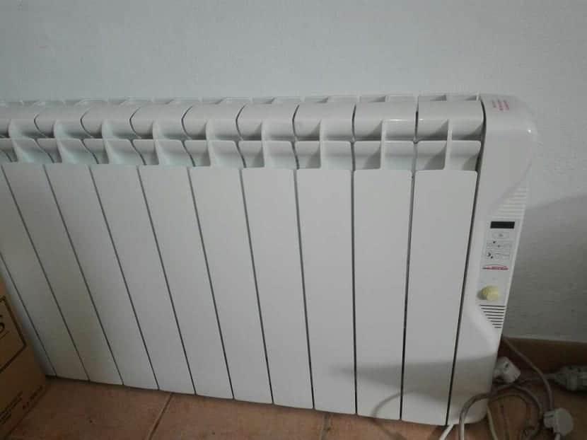 Tipos de radiadores de calor azul
