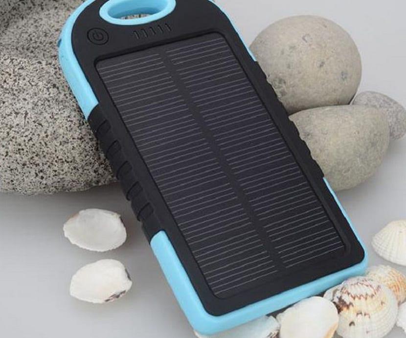 Como funciona un cargador solar