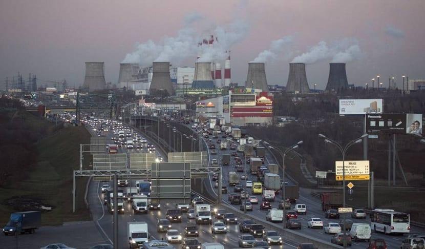 Emisiones de co2 en las ciudades