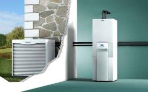 sistema de calefaccion aerotermia