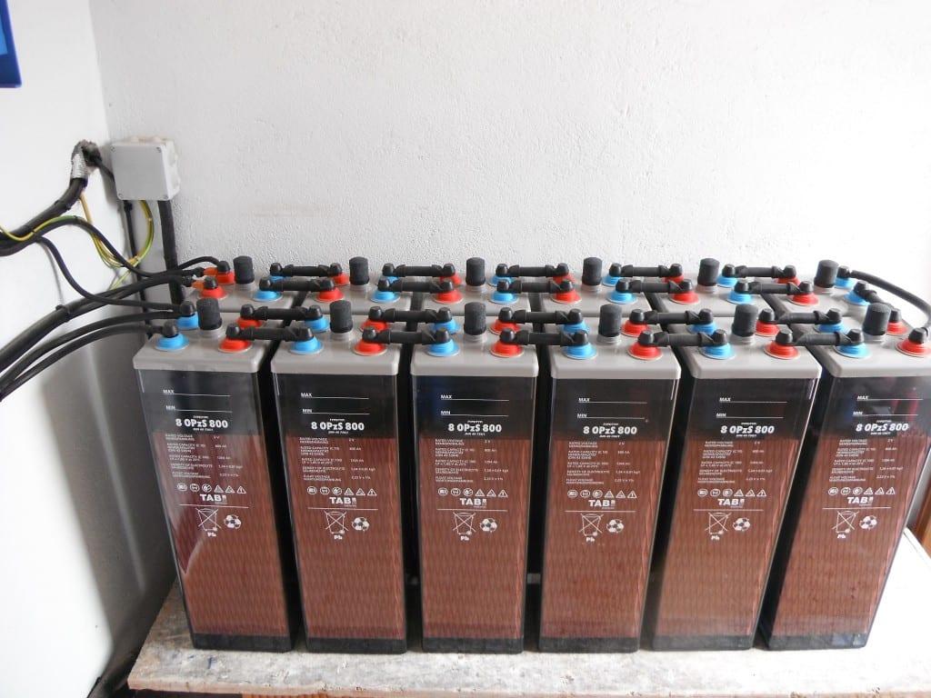 instalacion de baterias solares