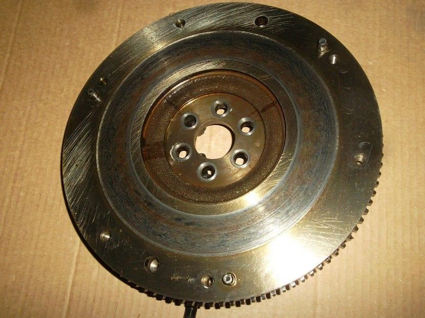 ruedas dentadas del volante de inercia
