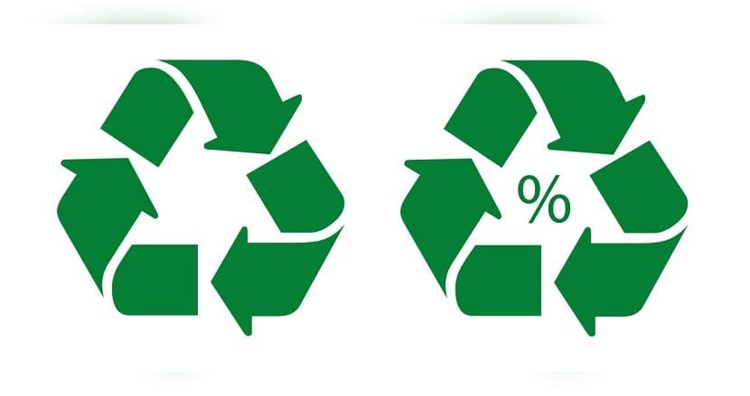 simbolo original de reciclaje