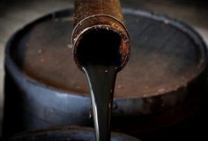 El crudo del petróleo