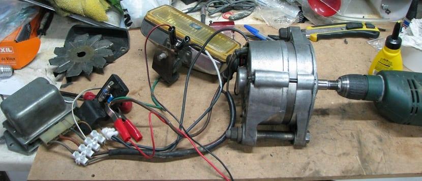 tipos de materiales para la construccion de aerogenerador casero