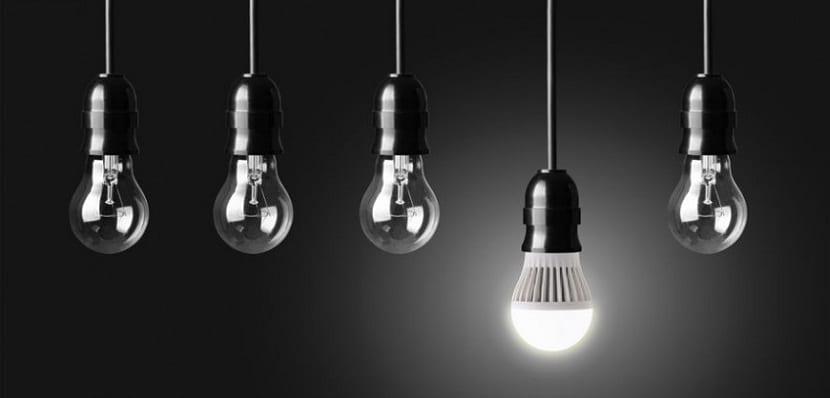 Bombillas LED con respecto a las convencionales