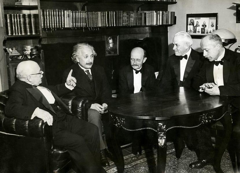 Científicos que estudiaron el fotón