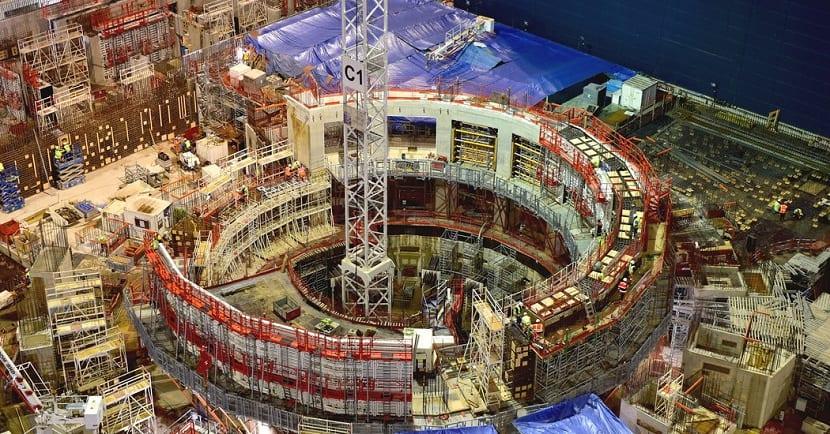 Construccion del reactor de fusion nuclear