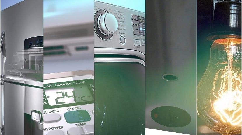 Consumo de electrodomésticos