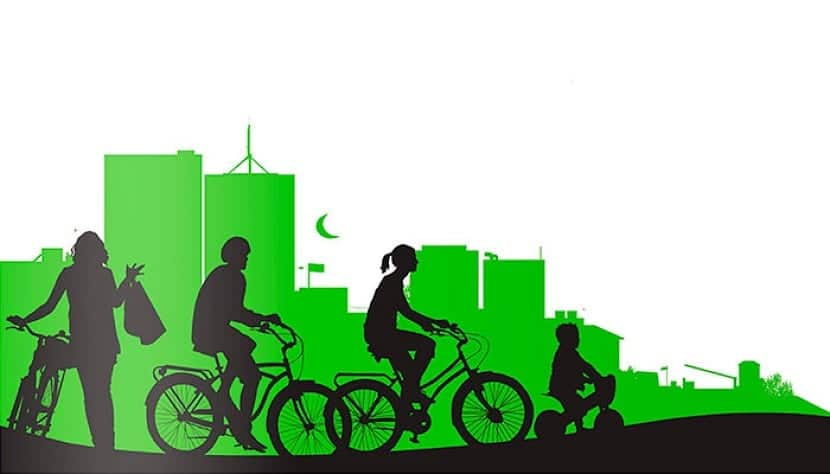 Más uso de la bicicleta