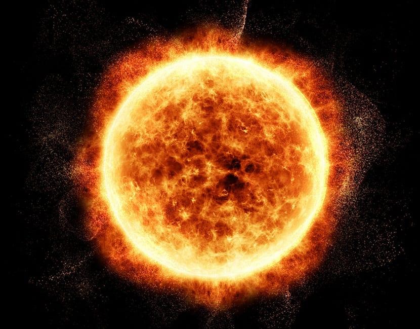 confinamiento gravitatorio en el sol