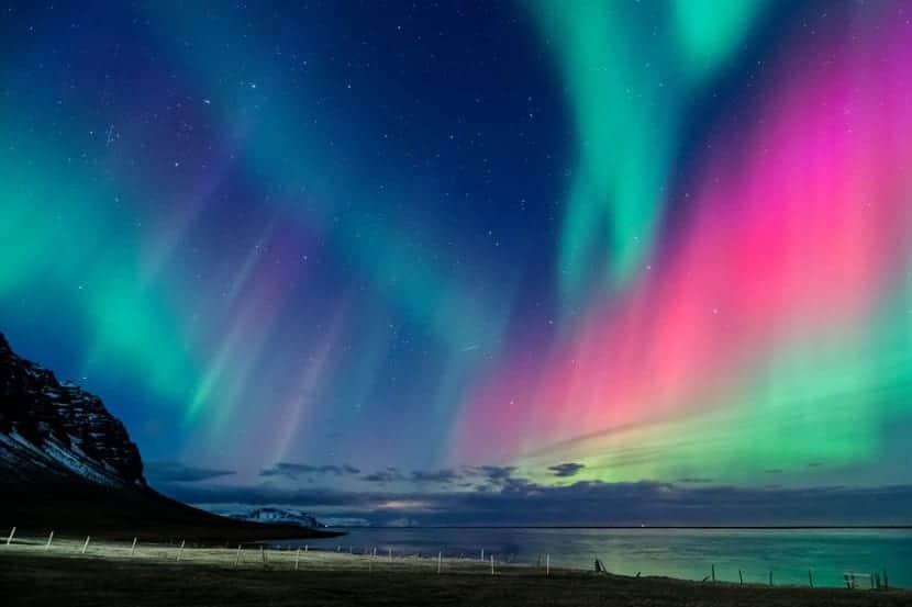 Aurora boreal de Noruega