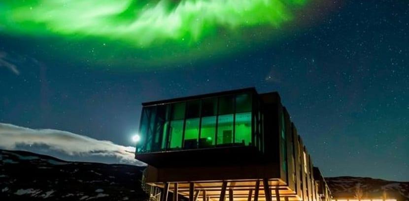 Como se forma la aurora boreal