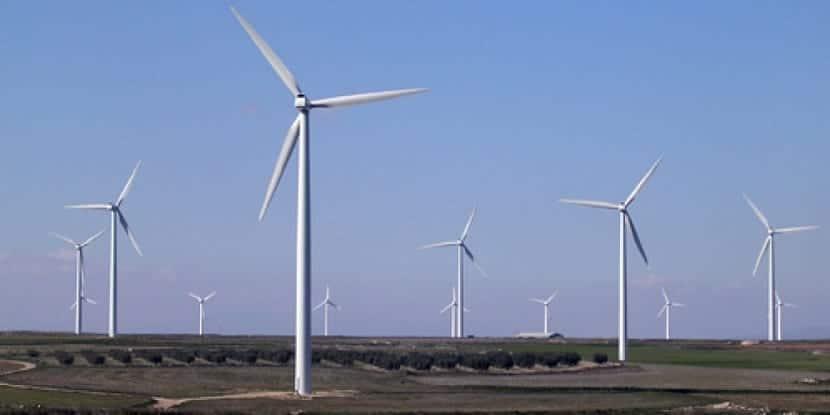 Construcción de nuevos parques eólicos