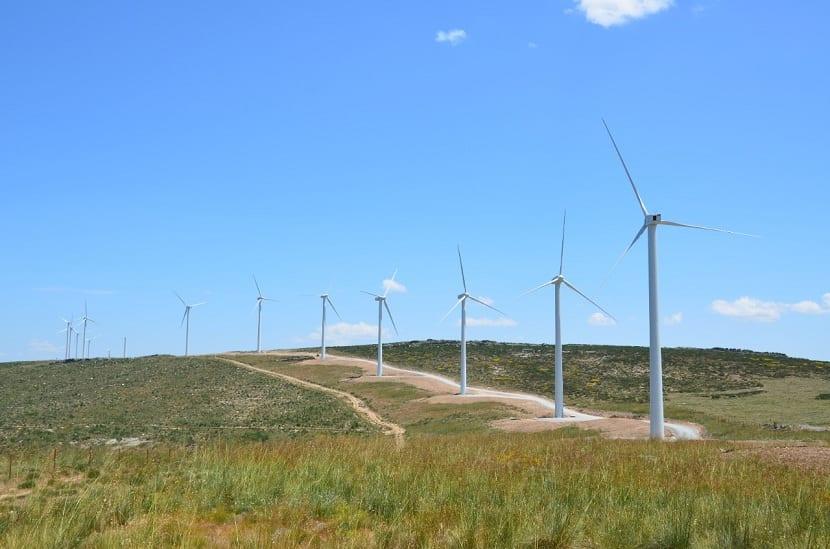 Construcción de parques eólicos