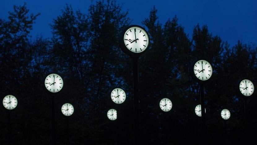 Fin del cambio de hora