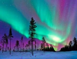 Lugares donde ver la aurora boreal