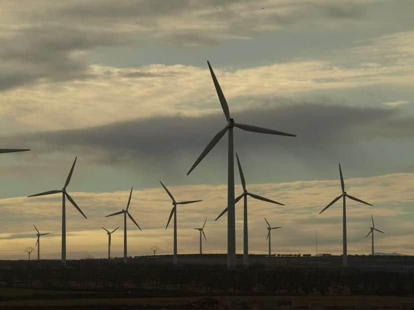 capacidad de energía eólica
