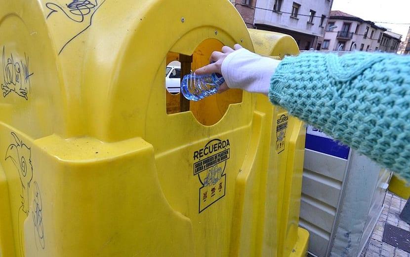 Residuos que depositar en el contenedor amarillo