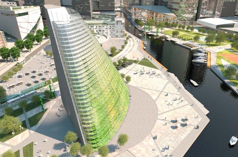 Edificios de agricultura vertical