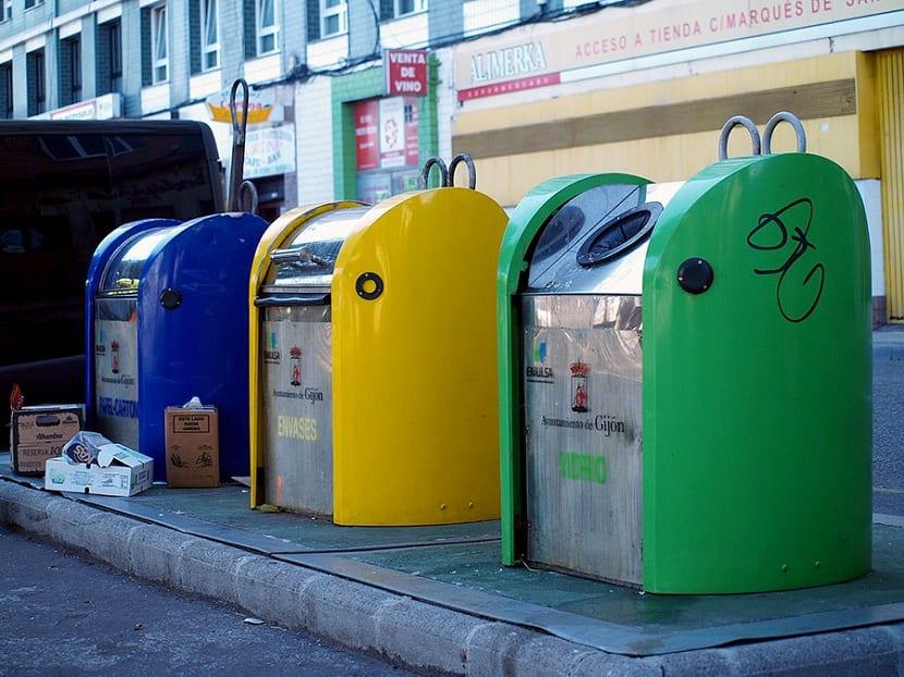 Contenedores de residuos sólidos