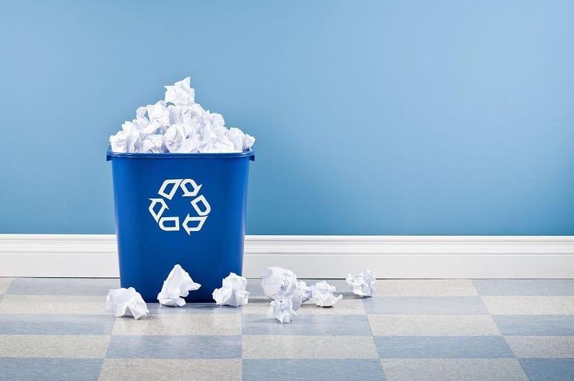 Desperdicio de papel
