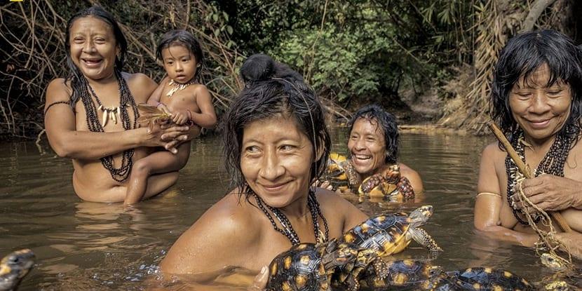 Modo de vida de las tribus del amazonas