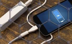 Baterías de grafeno para móvil