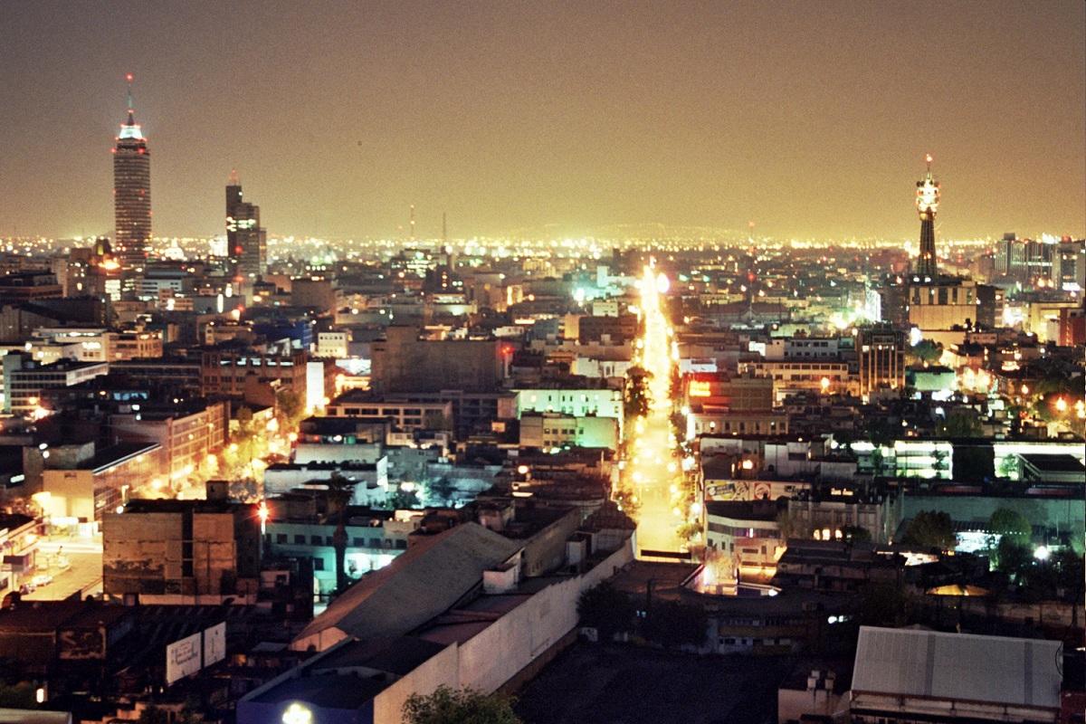 Contaminación lumínica en grandes ciudades