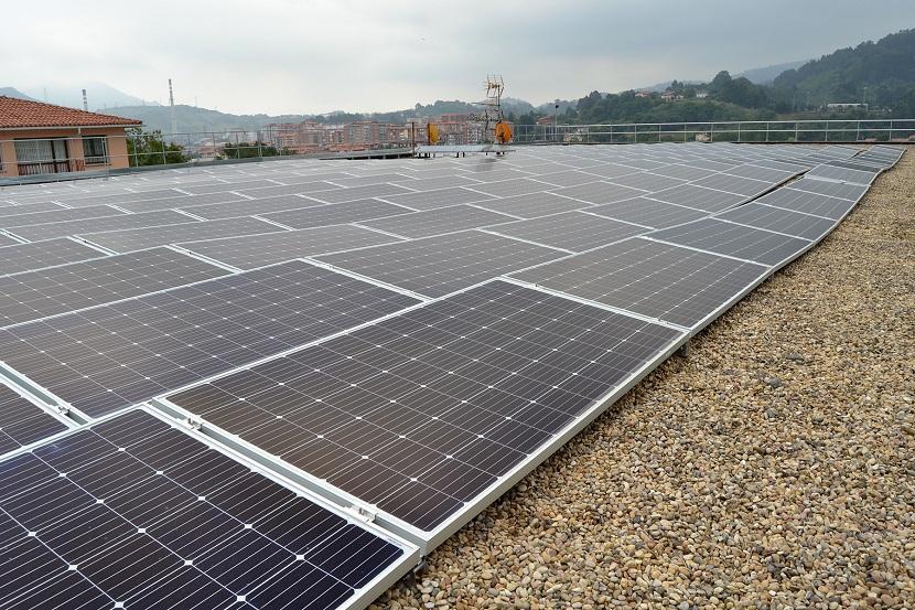 Espacio para un huerto solar