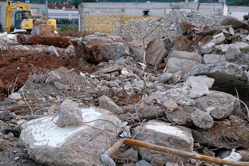 residuos de construcción