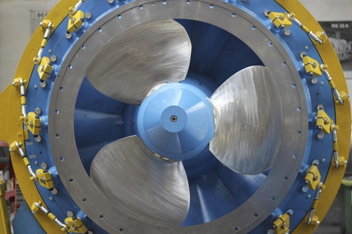 Partes de la turbina Francis