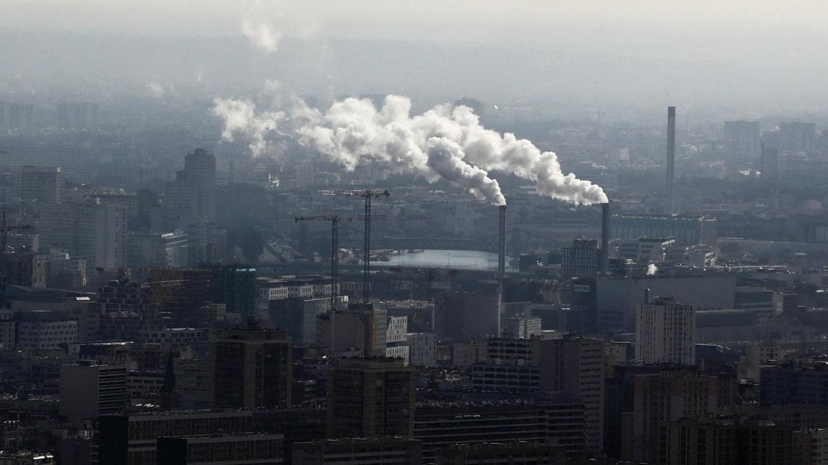 Industrias contaminando