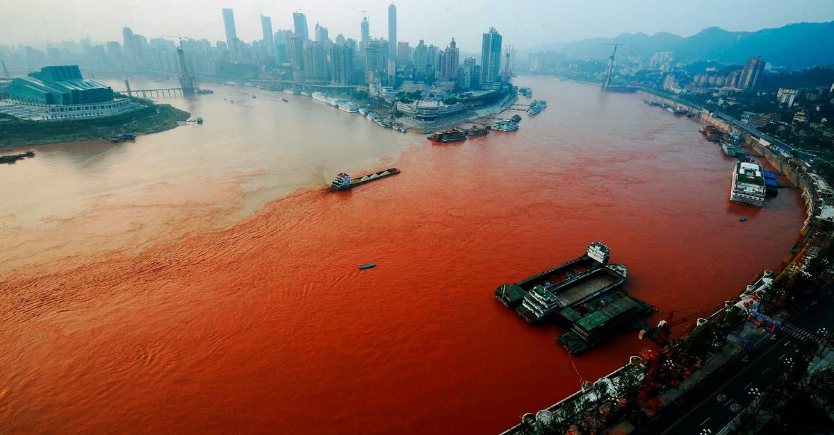Países más contaminados del mundo
