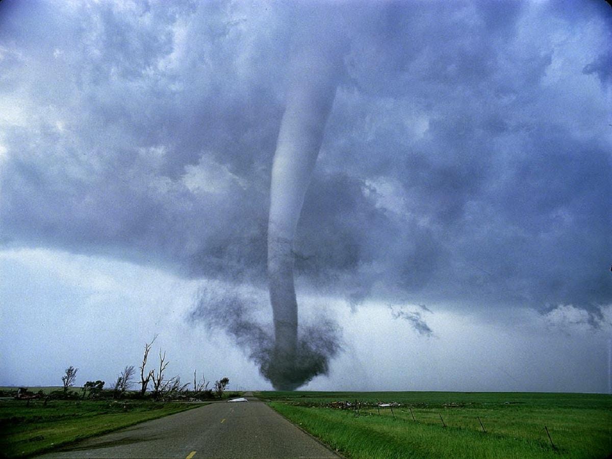 Qué es un tornado