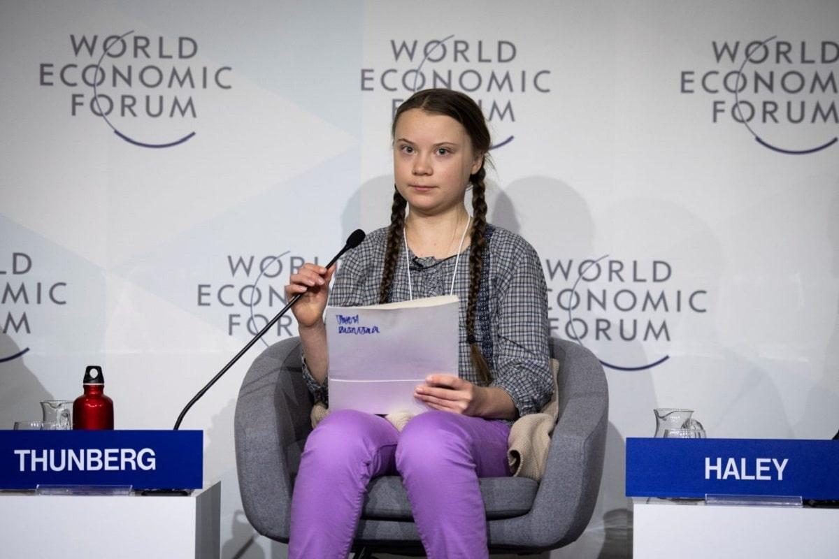 Greta Thunberg discurso