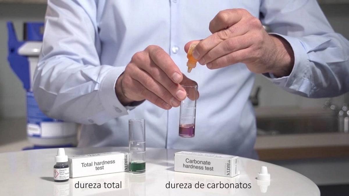 Dureza del agua quimica