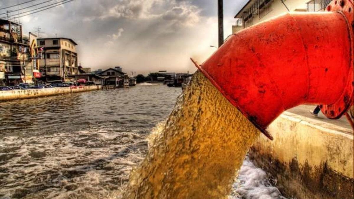 Vertido de aguas residuales