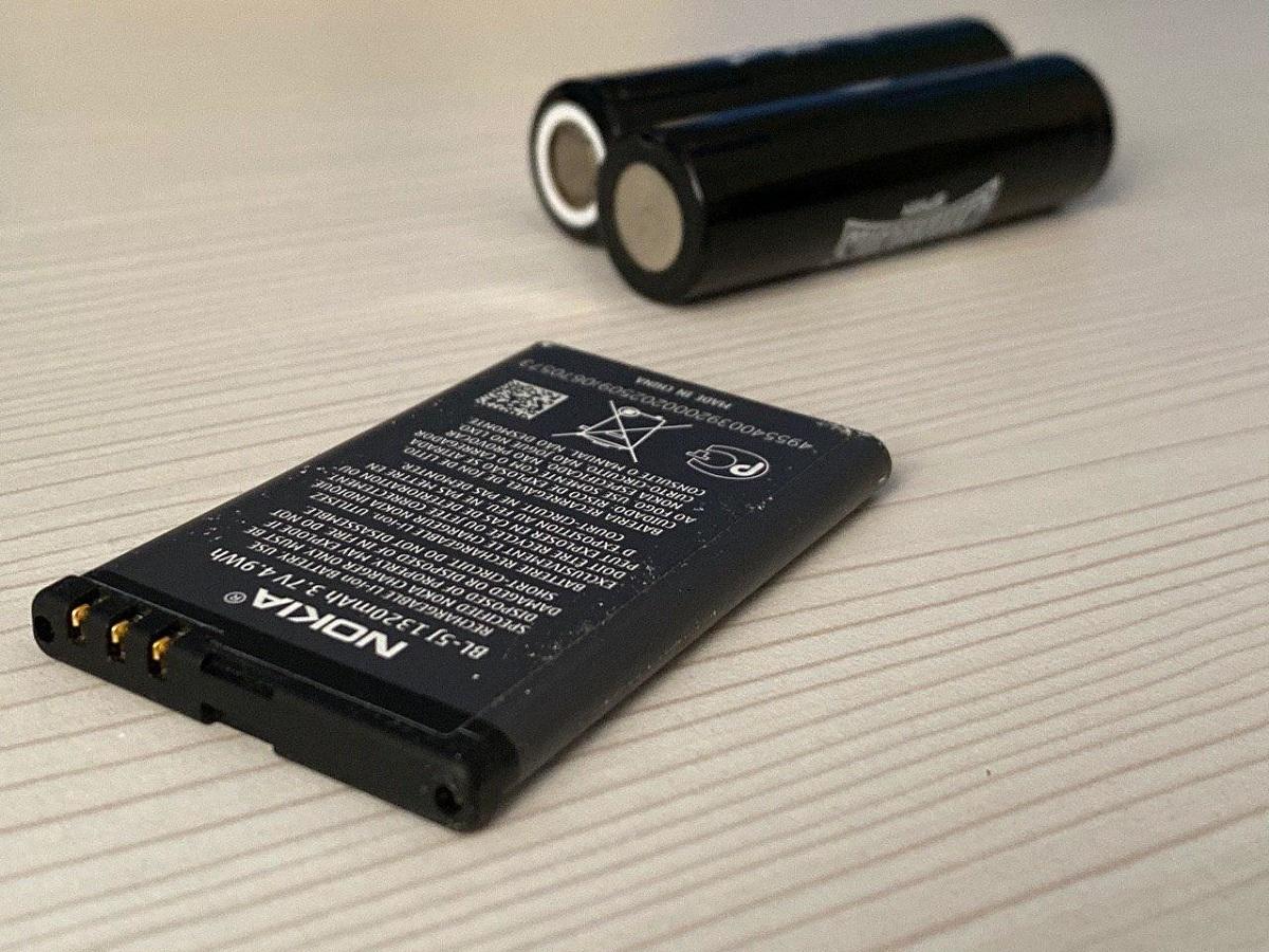 baterias de litio moviles