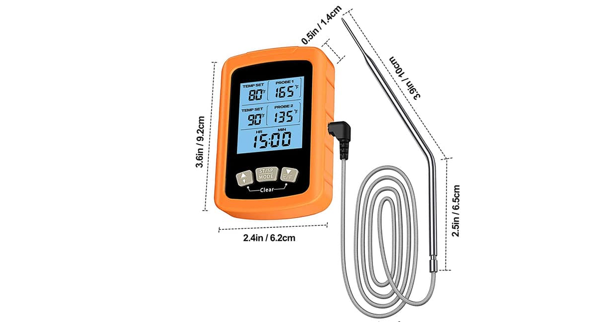 Precisión termómetro laboratorio