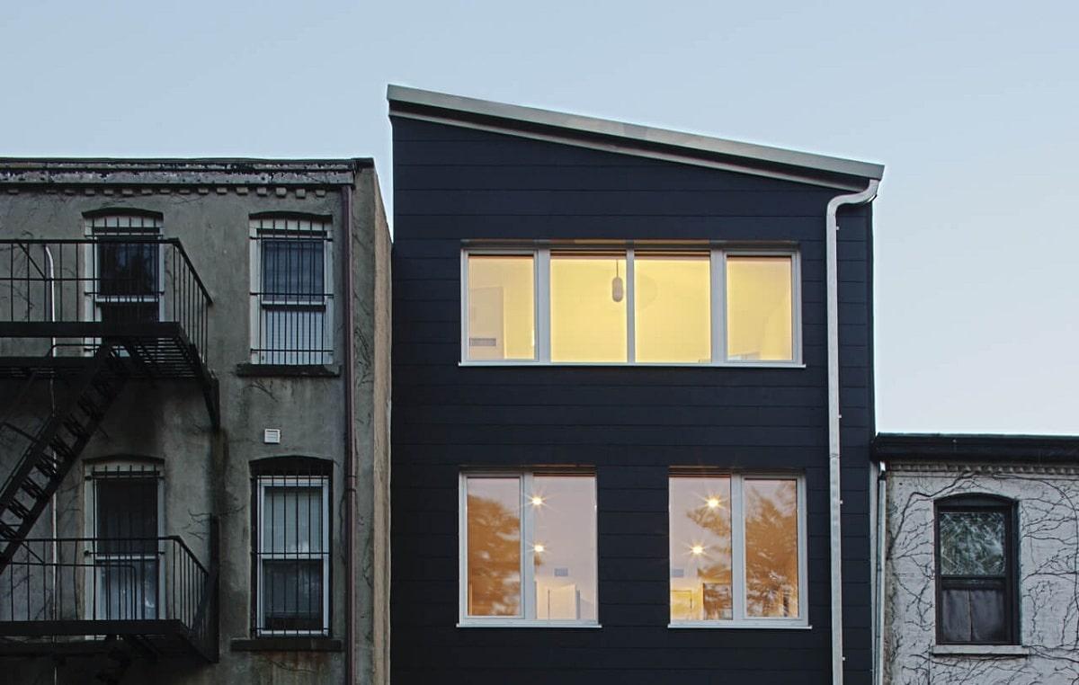 passive house en ciudad