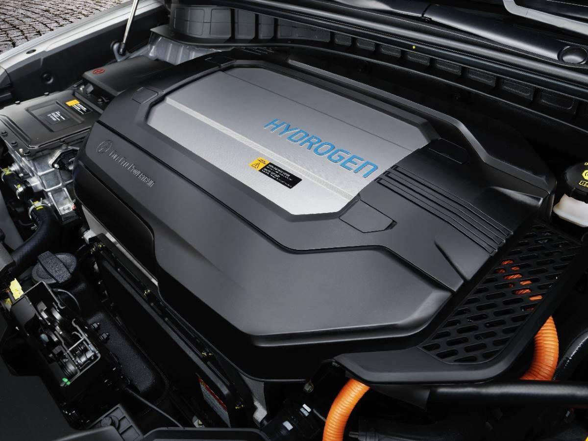 pila de hidrogeno en motor